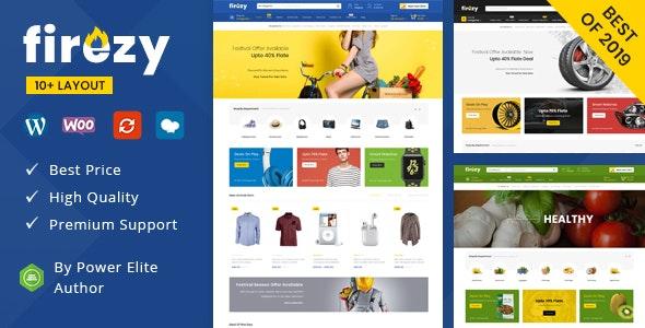 firezy - Multipurpose WooCommerce Theme